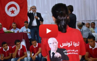 Des Kéfois prennent à partie Mohsen Marzouk à Béja !