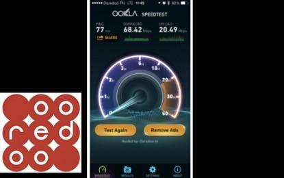 Ooredoo réalise le 1er test de navigation 4G en Tunisie