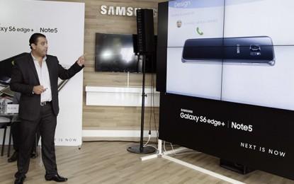 Samsung lance en Tunisie le Galaxy S6 Edge+ et le Note 5