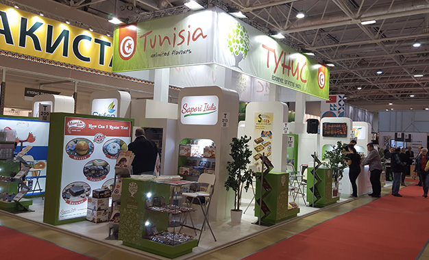 L agroalimentaire tunisien au salon world food moscow 2015 - Salon agroalimentaire ...