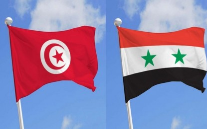 Rassemblement de soutien à Bachar, le samedi 8 octobre à Tunis