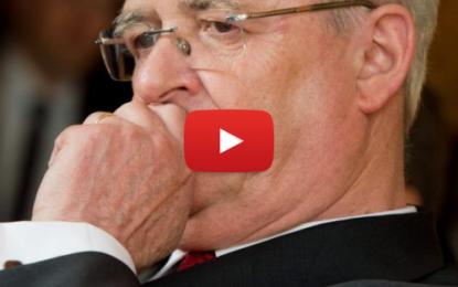 Volkswagen: Démission du PDG Martin Winterkorn