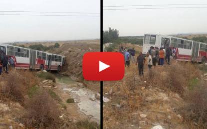 Une cinquantaine de blessés suite au dérapage d'un bus à Djebel El Oust