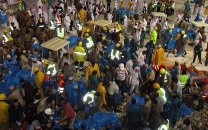 Effondrement à la Mecque : Bilan provisoire de 107 morts et 238 blessés