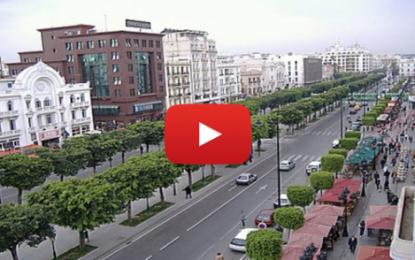 Interdiction d'accès à l'avenue Habib Bourguiba