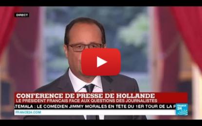 Hollande: Bachar al-Assad doit partir