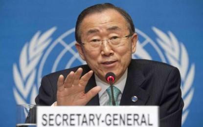 Lutte anti-terroriste : Ban Ki-moon salue les efforts de la Tunisie