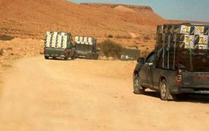Gabès : Saisie de marchandises de contrebande estimées à 200.000 dinars
