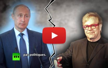 Elton John piégé par deux humoristes russes se faisant passer pour Poutine