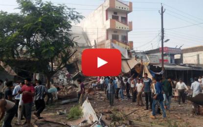 Près de cent morts dans une explosion en Inde