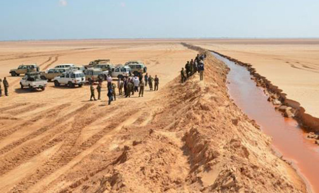 frontières Libye
