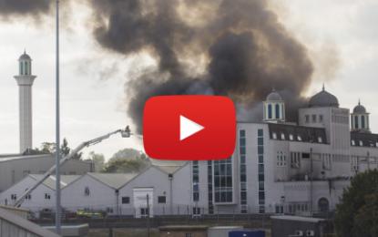 Incendie dans une mosquée à Londres