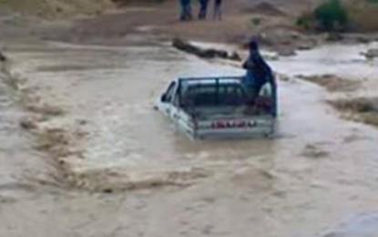 Kasserine : Un homme de 24 ans emporté par les eaux à Laayoun