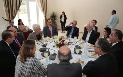 Christine Lagarde : Le FMI soutient la Tunisie et insiste sur les réformes