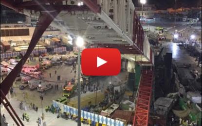 Important déploiement de secours à la Grande Mosquée de la Mecque