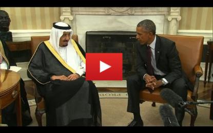 Première visite du roi Salmane aux Etats-Unis