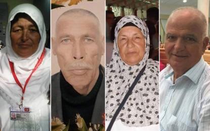 Noms des 6 pèlerins tunisiens perdus à la Mecque