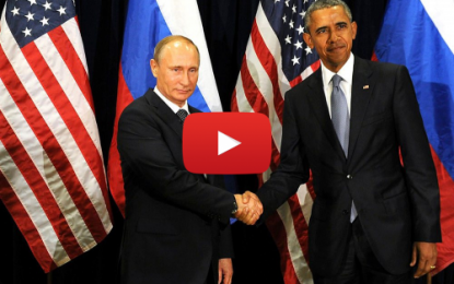 Rencontre Poutine Obama: Poignée de main glaciale!