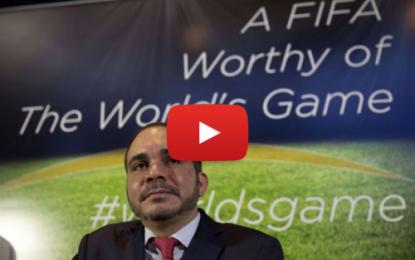 Le Prince Ali 3e important candidat pour la présidence de la Fifa