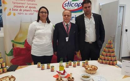 Harissa Sticap: Médaille d'or au Concours suisse des produits du terroir
