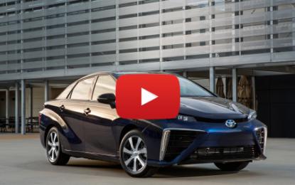 La nouvelle Toyota Mirai au salon de Francfort
