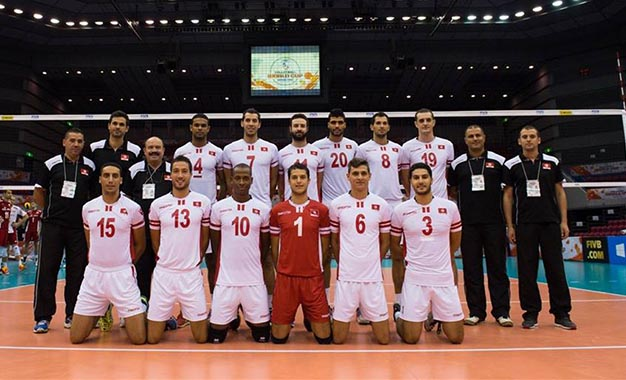 tunisie volley ball