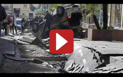 Côte d'Azur: Au moins 16 morts dans une tempête!