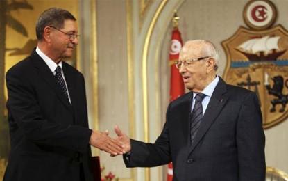 Beji Caïd Essebsi : «Un remaniement ministériel n'est pas exclu»