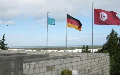 Célébration du Jour de Deuil national allemand à Borj Cedria