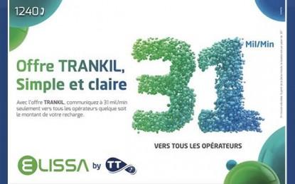 Trankil, nouvelle offre Elissa by TT