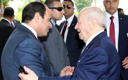 Caïd Essebsi au Caire salue l'entente tuniso-égyptienne