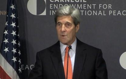 John Kerry : «La Tunisie donne l'exemple au Moyen-Orient»