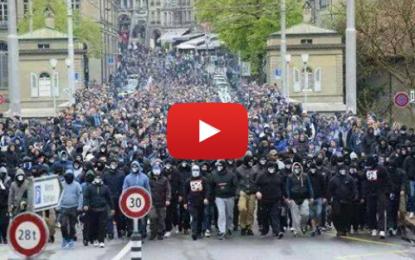 Cologne : Manifestation de HoGeSa contre les salafistes