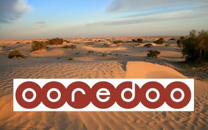 Ooredoo étend son réseau 3G au désert tunisien