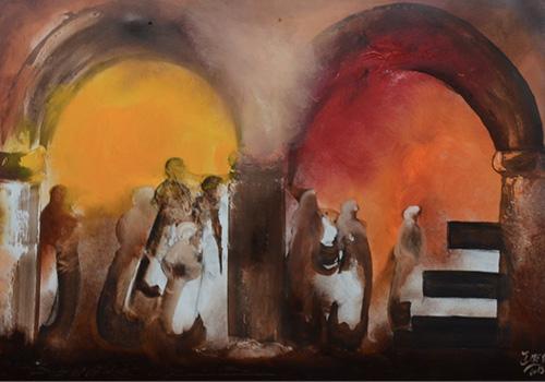 Peinture-de-Mahmoud-Sehili