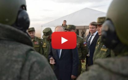 Poutine exclut des opérations terrestres en Syrie