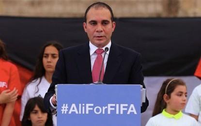 Le Prince Ali candidat officiel à la présidence de la Fifa