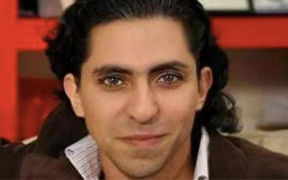 Le Prix Sakharov au blogueur saoudien Raef Badaoui