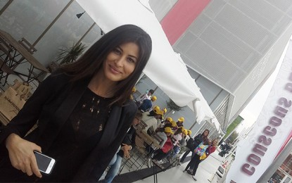 Expo Milan 2015 : La top model Rim Saidi au pavillon Tunisie