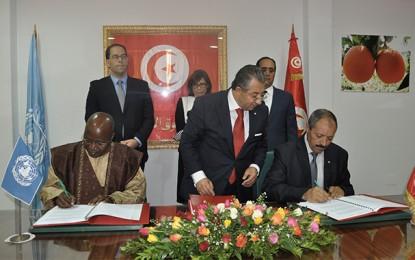 FAO : Signature de 3 projets en faveur de la Tunisie