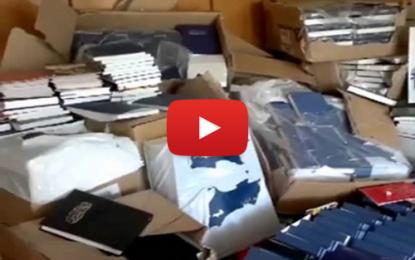 Mahdia: Saisie de 25 tonnes de livres takfiristes !
