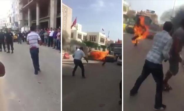 Sfax-immolation-feu