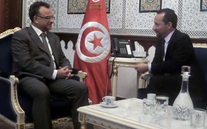 Tunisie-Etats-Unis : Slim Chaker reçoit Daniel Rubinstein