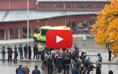 Suède: Une attaque au sabre fait 3 morts dans une école!