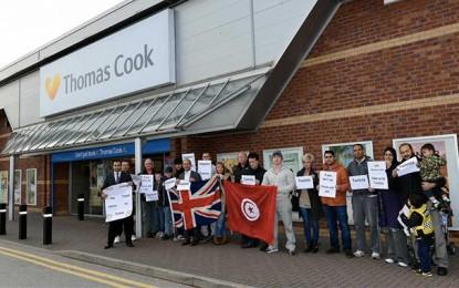 Grande-Bretagne: Manifestation de solidarité avec le tourisme tunisien