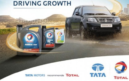 Accord de partenariat mondial Tata Motors et Total Lubrifiants