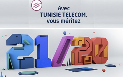 Tunisie Telecom lance l'offre «21/20»