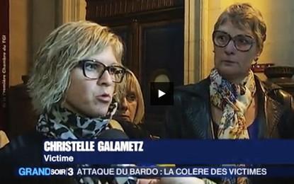 Attentat du Bardo: Les victimes françaises repartent à la charge (vidéo)