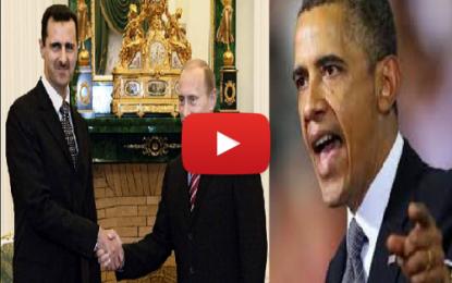 Visite d'Al-Assad en Russie: L'Amérique en colère!