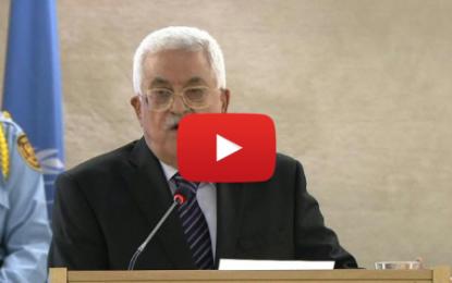 Cisjordanie: Abbas réclame une protection internationale